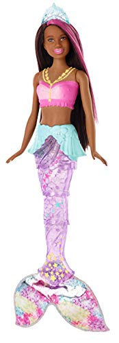 Barbie Dreamtopia Sparkle Lights Mermaid, Brunette