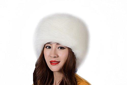 Russian White Winter Hat - 4