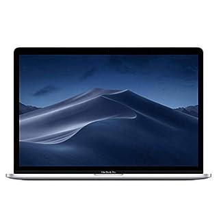 "Apple 15.4"" MacBook Pro Retina Display, Touch Bar, 2.2GHz ,Intel Core i7 Six-Core, 16GB RAM, 256GB SSD - Silver (Renewed)"