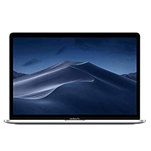 "Best Epic Trends 31DYuuE5iML._SS300_ Apple 15.4"" MacBook Pro Retina Display, Touch Bar, 2.2GHz ,Intel Core i7 Six-Core, 16GB RAM, 256GB SSD - Silver (Renewed)"