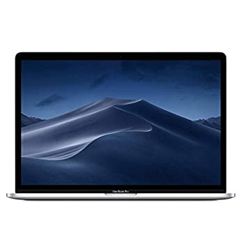 Image of Apple 15.4' MacBook Pro Retina Display, Touch Bar, 2.2GHz ,Intel Core i7 Six-Core, 16GB RAM, 256GB SSD - Silver (Renewed) Traditional Laptops
