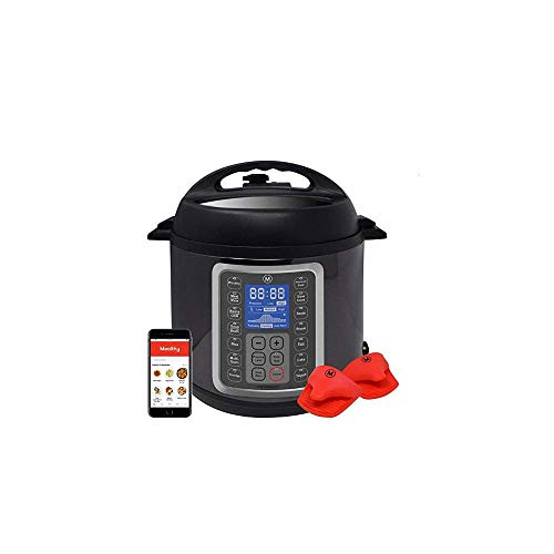 Qiaoden Pressure Cooker Air Fryer All in One Programmable Pr