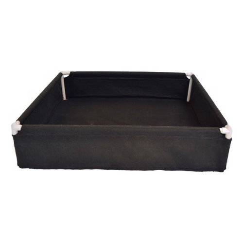 Geopot PL36X16X14 Raised Planter Bed, 36-Inch by 16-Inch by 14-Inch by GeoPot