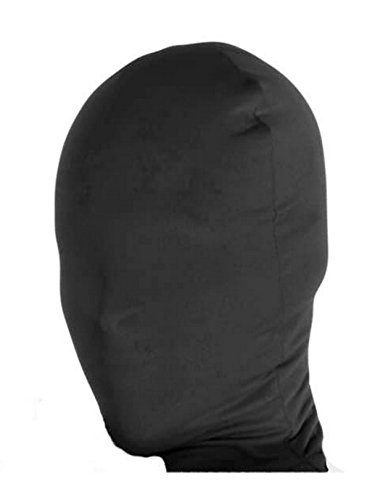 Rubie's Black 2nd Skin Mask, Black, Adult -