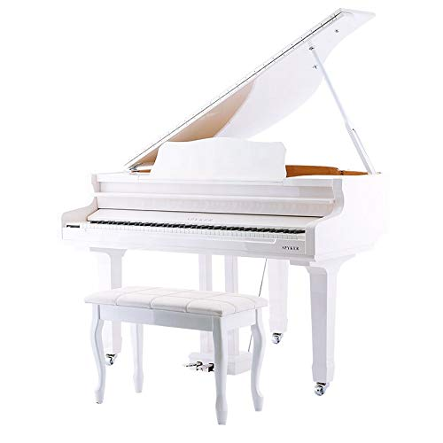 Digital Baby Grand Piano (White)