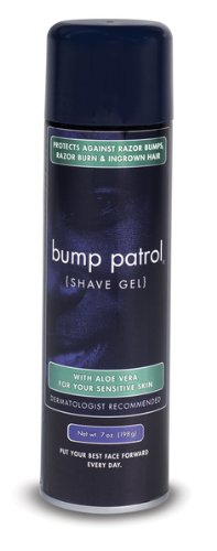 Bump Patrol Cool Shave Gel 4 Ounce Tube (Sensitive) (118ml) (6 Pack) ()