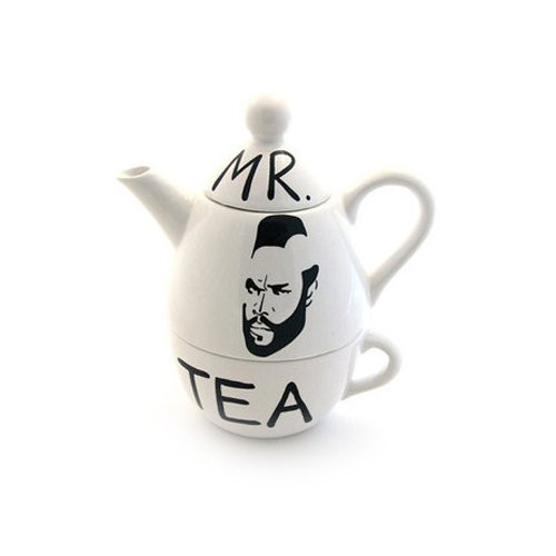 Mr. T Parody Tea For One Set