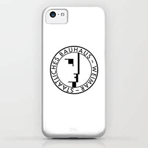 Bauhaus Logo / White Case For Iphone 6 Plus (5.5 Inch) Cover By THE USUAL DESIGNERS