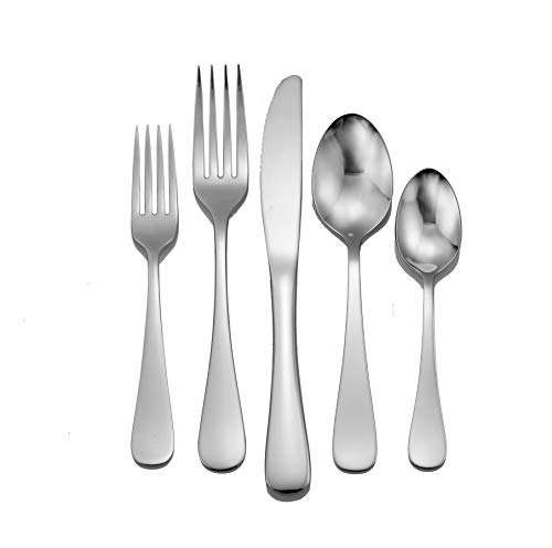 Liberty Tabletop Annapolis 45 Piece Flatware Set for 8 Made in USA ()