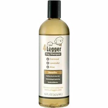 4-Legger orgánico Certificado de harina de Avena Todo champú para Perros Natural: Amazon.es: Productos para mascotas