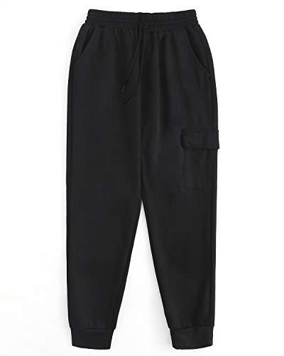 Pantalon de Pantalon cargo pour Pantalon Pantalon homme Noir de 2019 Pantalon survêtement de sport Modchok jogging de jogging 4 OTPiXkZwul