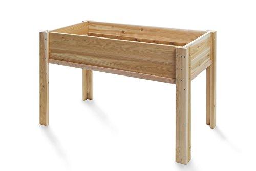 All Things Cedar Raised Garden Box with Legs, 4' by All Things Cedar