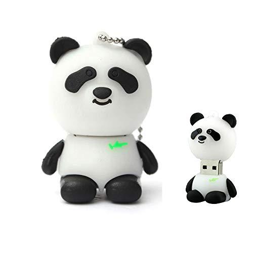 - 64GB USB Flash Drive Novelty Cartoon Cute Animal Panda Shape Thumb Drive High Speed Memory Stick Pen Drive for Gift Gifts