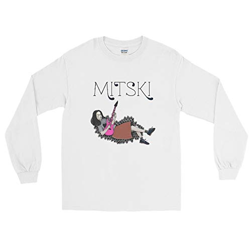 Mitski North American Tour Long Sleeve T-Shirt White