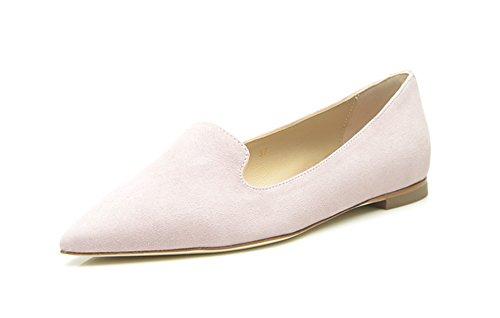 SHOEPASSION.com - Mocasines de Piel para mujer, color morado, talla 40.5: Amazon.es: Zapatos y complementos