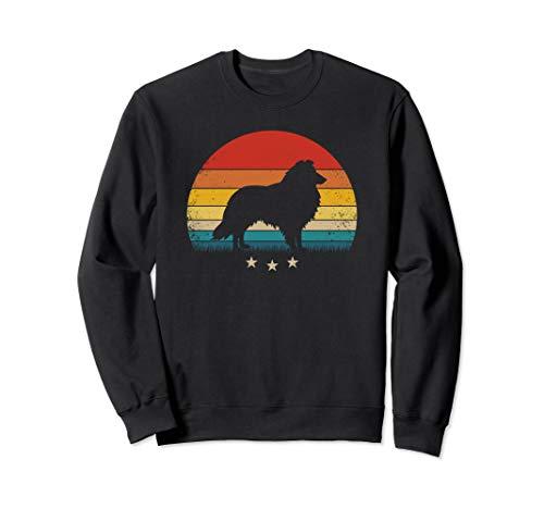 epdog Silhouette Retro Sunset Sweatshirt ()