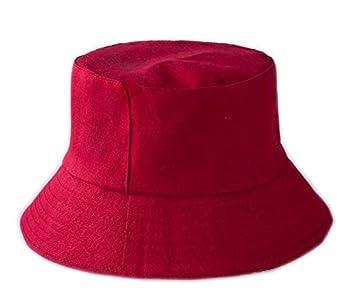 QQYZ Unisex Color Sólido Sombreros De Cubo Sombreado Gorras Planas ...