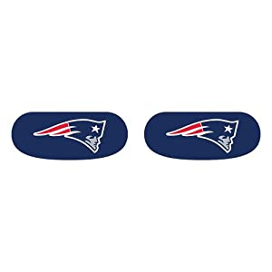 Amazon.com : New England Patriots Eye Black Strips - NFL Fan Gear ...