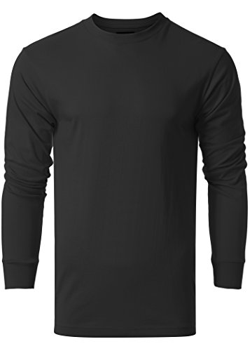 Long Sleeve Fitted Crew Tee - 9