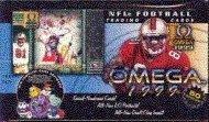 1999 Pacific Omega Football Cards Unopened Hobby box - Donovan McNabb & Edgerrin James Rookie Year