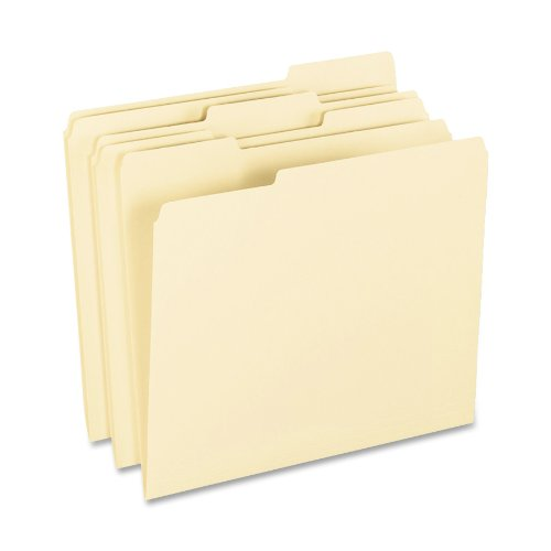 Pendaflex 62699 Pendaflex Archival Pressboard File Folders, 1/3 Cut, Top Tab, Ltr, MLA, 100/Box