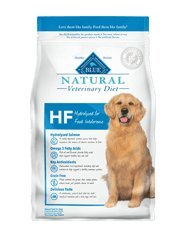 Blue Natural Veterinary Diet HF Hydrolyzed for Food Intolerance Dry Dog Food 22 lb