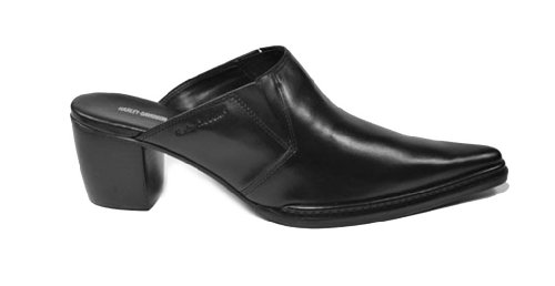 Harley-Davidson 83243 Nico Black Slip on Casual Dress Shoes Women Size (8.0) (Boots Harley On Slip Davidson)