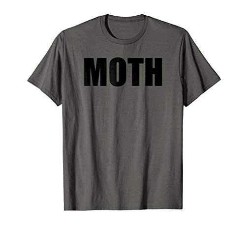 Moth Costume Flame Meme Couple Fun Halloween Party T-Shirt -
