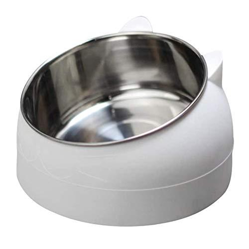 geneic Stainless Steel Pet Cat Bowl, Cat Food Bowl, Cat Feeding Bowl, Cat Water Bowl, Multi-purpose Pet Feeding Bowl,for…