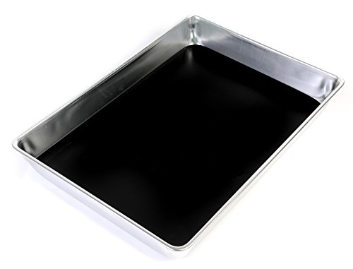 American Educational Aluminum Large Dissecting Pan with Wax, 13-1/8