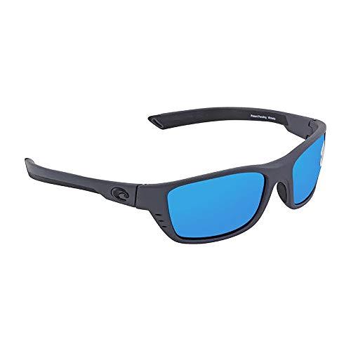 Costa Del Mar Whitetip 580G Whitetip, Matte Gray Blue Mirror, Blue ()