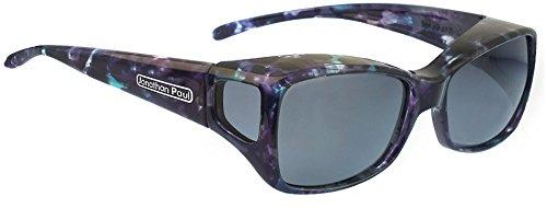 dd2e6a9c3a Jonathan Paul® Fitovers Dahlia Medium Polarized Over Sunglasses    Mother-Pearl   Polarvue Gray