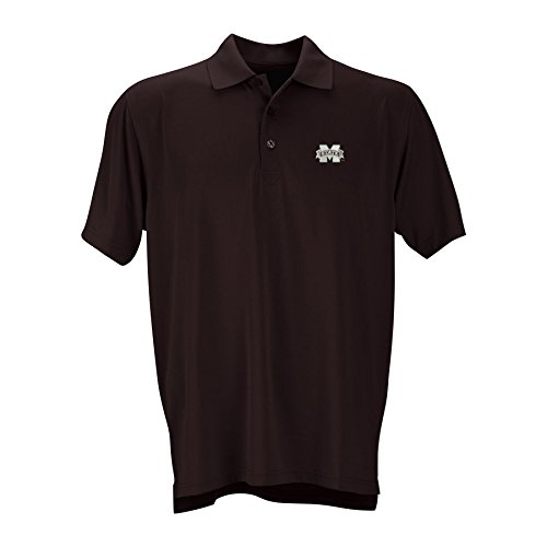 Elite Fan Shop Mississippi State Bulldogs Performance Polo Maroon - -