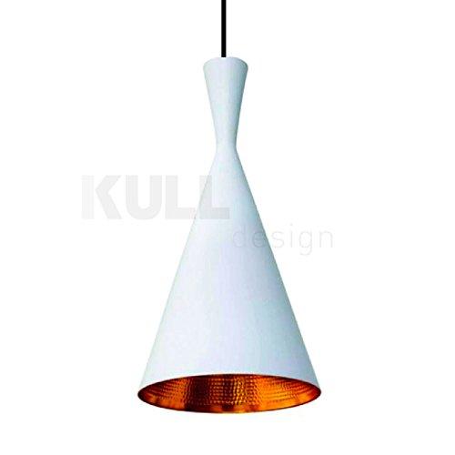 Lámpara Beat Tall Blanca. Lámpara de techo inspirada en el ...