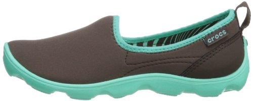 Duet Sport Zapatos Espresso Island Green Skimmer sintético sin mujer Crocs de cordones Marrone d5qtvAgdwx