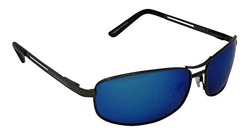 Modena Metal gafas de sol polarizadas azul espejo Cat 3 ...