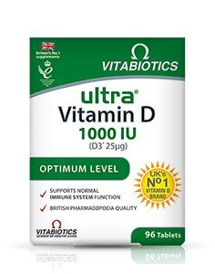 Vitabiotics - Ultra Vitamin D - 96 Tablets