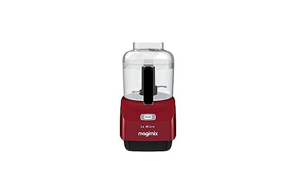 Magimix 18114F - Licuadora (0,8 L, Batidora de vaso, Rojo, 290 W ...