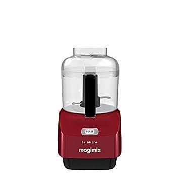 Magimix 18114F Batidora de vaso 0.8L 290W Rojo - Licuadora (0,8 L