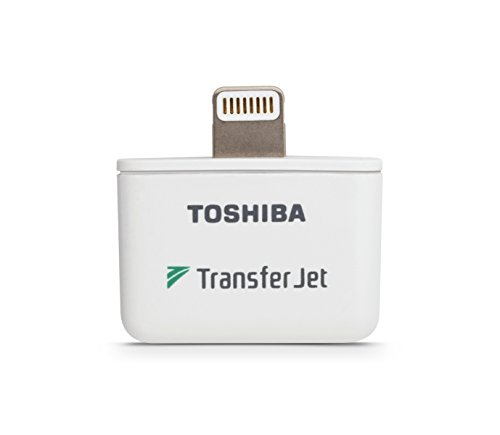 Toshiba TransferJet Wireless Adapter with Lightening Connector (TJNA00LTB)