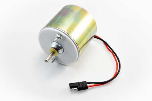 Low Amp 12 Volt 1/4'' Shaft Feeder Motor ()