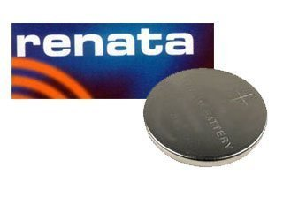 One (1) X Renata Cr1220 Lithium Watch / Key / Gadget Battery 3V Blister Packed - Japan Made Quality by Renata by Renata
