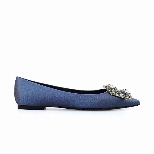 Agudo 36 Dhg Bajo Boca Salvaje Temperamento Diamantes Baja Zapatos Mujer re Tacón De X71nrYqB7