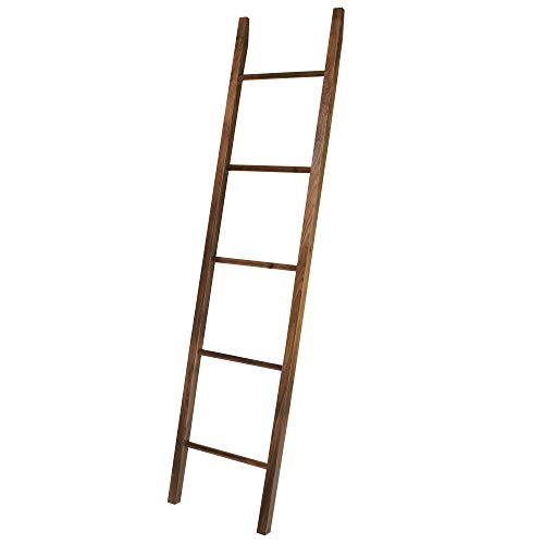 (American Trails Decorative Ladder with Solid Walnut)