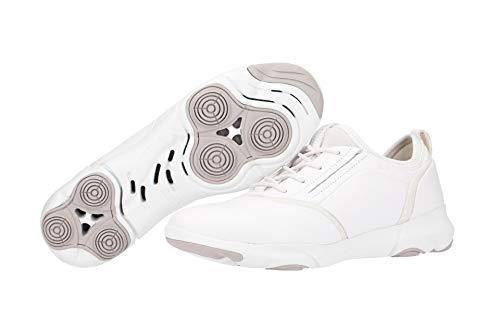 Blanc S C1001 Femme A white D Baskets Enfiler Nebula Geox Ew0qHC