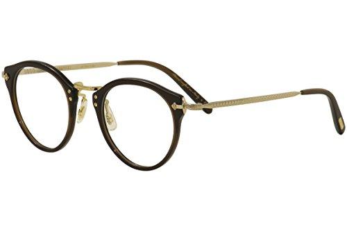 Oliver Peoples OP-505 OV5184 5184 1625 Brown/18k Gold Plated Optical Frame - Optical Peoples Oliver
