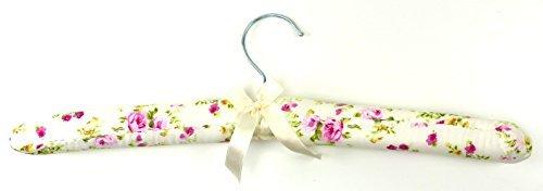 Trendit Kleiderbugel Stoff Gepolstert 38cm Mit Schleife Blumen Viele