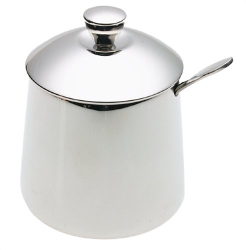 Frieling USA 18/10 Stainless Steel Sugar Bowl and Spoon (Frieling Stainless Steel Spoon)