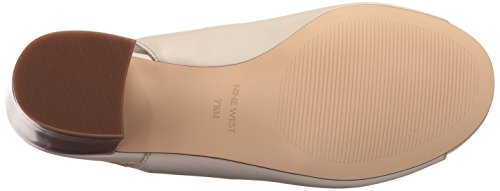 Nine West Women's Gaines Leather Pump Off White sale amazing price buy cheap shop offer cheap sale Manchester hVpRSw