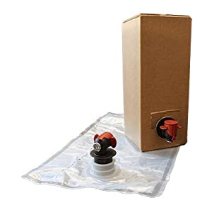 Astropaq Wine Bag-In-Box Kits [Eco-Friendly Wine Bottle Alternative] - Easily Bottle, Store & Dispense Your Wines - Perfect For Home Winemakers (Bag In Box Kits, 6 x 1.5L)